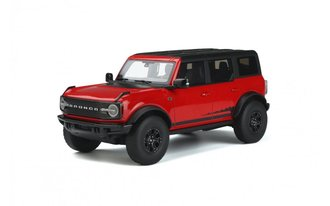 1:18 2021 Ford Bronco Wildtrack (Race Red)