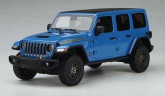 1:18 2021 Jeep Wrangler Rubicon 392 (Blue)