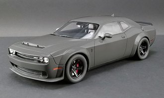 1:18 2018 Dodge Challenger SRT Demon (Destroyer Grey)