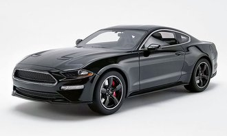 1:18 2019 Ford Mustang Bullitt (Shadow Black)