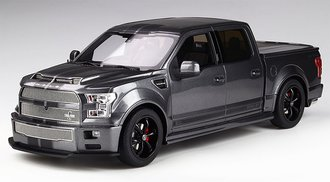 1:18 2017 Shelby F-150 Super Snake (Magnetic Metallic Grey w/Black Stripes)