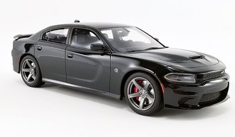 1:18 2019 Dodge Charger SRT Hellcat (Pitch Black)