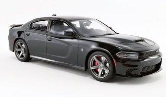 1:18 2019 Dodge Charger SRT Hellcat (Pitch Black)