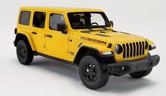"1:18 2019 Jeep Wrangler Rubicon ""HELLAYELLA"""