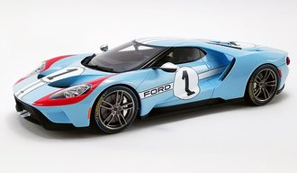 1:18 2020 Ford GT - #1 Heritage Edition