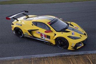 1:18 2020 Chevrolet Corvette C8-R (Race Yellow)