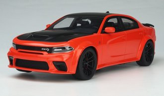 "1:18 2021 Dodge Charger SRT Hellcat Red Eye ""Go Mango"""