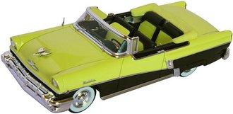 1:43 1956 Mercury Montclair (Zaffron Yellow/Tuxedo Black)