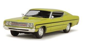 1:43 1969 Ford Torino (Yellow)