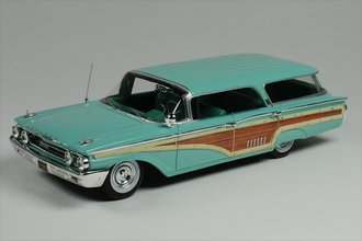 1960 Mercury Country Cruiser Station Wagon (Aztec Turquoise)