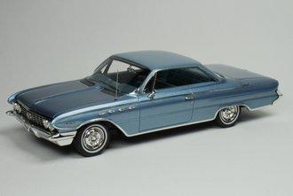 1961 Buick LeSabre (Blue Metallic w/White Roof)