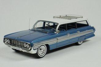 1962 Oldsmobile Dynamic 88 Fiesta Wagon (Wedgewood Poly) w/Roof Rack