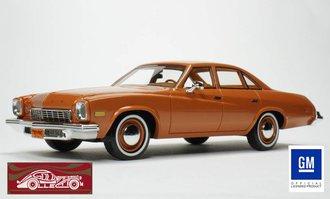 1974 Buick Century 4-Door Sedan (Ginger Poly)