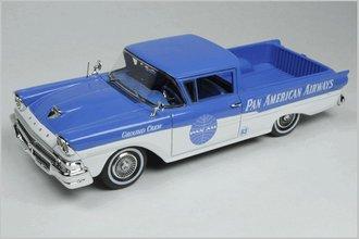 """1:43 1958 Ford Ranchero """"Pan American Airways"""""""
