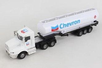 """1:50 Kenworth Semi Tanker """"Chevron"""" (White)"""