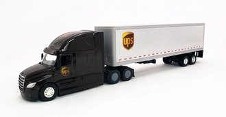 "1:64 Freightliner Cascadia w/40' Trailer ""United Parcel Service (UPS)"""