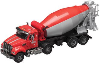 1:50 Kenworth Cement Mixer (Red/Gray)
