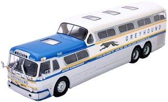"Greyhound GM Scenicruiser Yellow Stripe Bus ""Express"" (1962)"