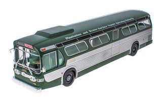 "1:43 GM TGH-5303 New Look Fishbowl Transit Bus ""New York - Manhattan & Bronx Surface Transit (M&BST)"