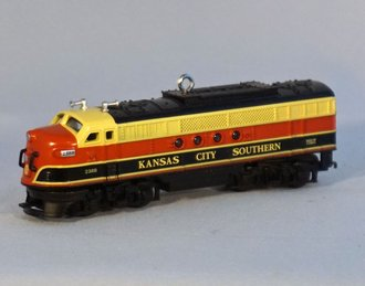 Lionel Ornament - KCS Diesel Locomotive - Gold Crown Special