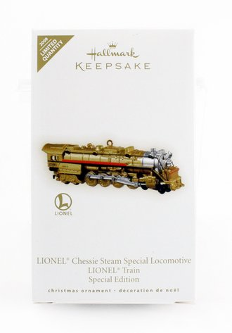 Lionel Ornament - Chessie Special Locomotive Lionel Train Special Edition *** Gold Crown Store Exclusive ***
