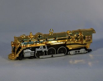 Lionel Ornament - 700E J-1E Hudson Steam Locomotive - 100th Anniversary Gold Edition