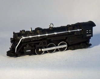 Lionel Ornament - 700E Hudson Steam Locomotive