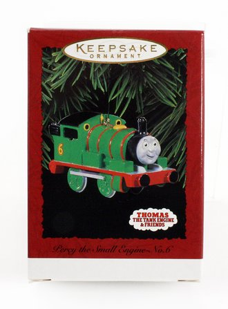 "Train Ornament - Percy the Small Engine No.6 ""Thomas the Train"""