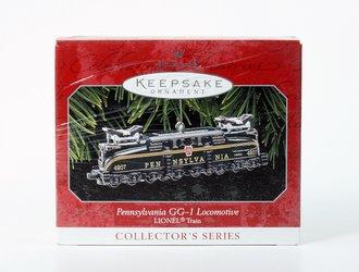 Lionel Ornament - Pennsylvania GG-1 Locomotive (Green)