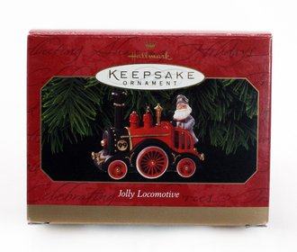 Train Ornament - Jolly Locomotive