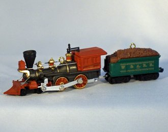 Lionel Ornament - 2000 Set - General Engine & Tender