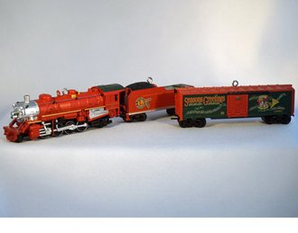 Lionel Ornament - 2009 Set - Mikado, Tender & Boxcar