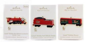Lionel Ornament - 2009 Set - Mikado, Tender & Boxcar