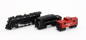 Lionel Ornament - 2011 Set - 726 Berkshire, Tender & Cabbose