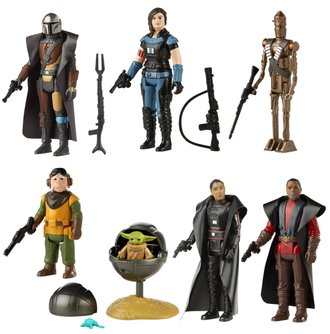 Star Wars The Retro Collection - The Mandalorian Action Figures - Wave 1 (Case of 8)