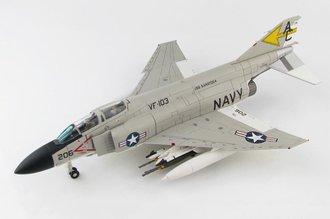 F-4J Phantom II USN VF-103 Sluggers, AC206, USS Saratoga, 1971
