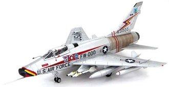 F-100D Super Sabre - Triple Zilch, 20th TFW, 1957