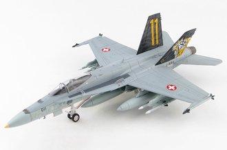 """F/A-18C Hornet Swiss Air Force 11 Staffel Tigers """"#J-5011"""" Meiringen AB, Switzerland, 2020"""
