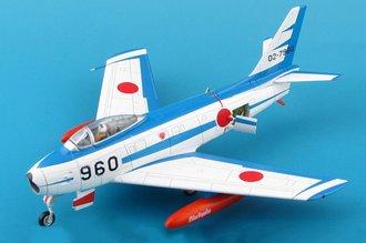 F-86F Sabre JASDF Blue Impulse, #02-7960, Hamamatsu AB, Japan, 1981