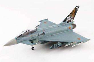 "EF-2000 Typhoon S Spanish Air Force 142 Sqn ""14-06"" Zaragoza AB, Spain, NATO Tiger Meet 2016"