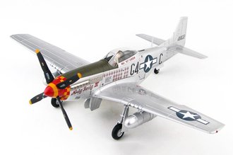 "P-51D Mustang USAAF 357th FG, 362nd FS ""#44-11622 Nooky Booky IV, Leonard ""Kit"" Carson"" 1945"