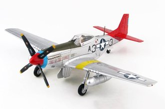P-51K Mustang USAAF 333nd FG, 99th FS Tuskegee Airmen, #44-72035 Tall in the Saddle, George Hardy