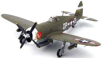 "P-47D ""USAAF 4th FG, 334th FS, #42-7945 ""Miss Plainfield"", Steve Pisanos, RAF Debden, England, 1943"""