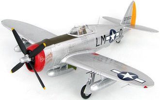 1:48 P-47D USAAF 56th FG, 62nd FS, Penrod & Sam #42-25512, Robert Johnson, RAF Boxted, England, May