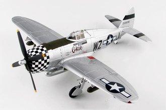 P-47D Thunderbolt USAAF 78th FG, 84th FS, #42-25698 Okie, Q.L. Brown, RAF Duxford, England, May 1944