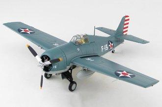 "F4F-3 Wildcat USN VF-3, White F-15, Edward ""Butch"" O'Hare, USS Lexington, 1943"