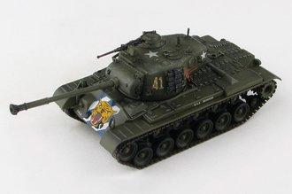 M46 Patton US Army 64th Tank Btn, #41, Imjin River, North Korea, April 1951