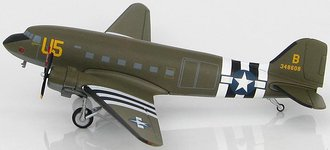 1:200 Douglas C-47 USAAF 27th ATG, 302nd ATW, Betsy's Biscuit Bomber #43-48608, Germany, 1944