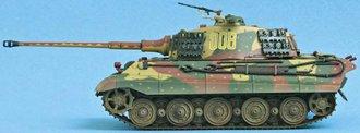 """R/C King Tiger (Henschel) SSspzabt 501 """"Battle of Bulge"""" (Ardennes, 1944)"""