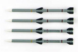 AIM-120C AMRAAM Missile Set (4 Pieces)